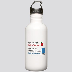 Teacher...Librarian Stainless Water Bottle 1.0L