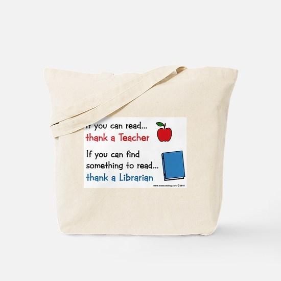 Teacher...Librarian Tote Bag