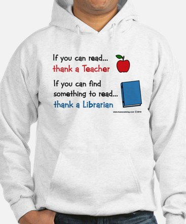 Teacher...Librarian Jumper Hoody