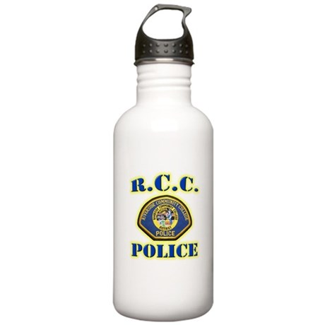 Riverside College Police Stainless Water Bottle 1.