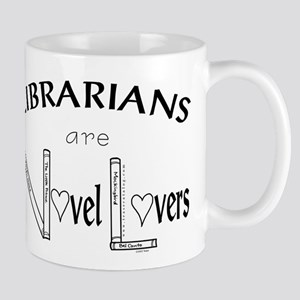 03 Librarians are Novel lovers Mugs