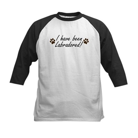 I Have Been Labradored Kids Baseball Jersey