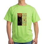 Zombie Circus Green T-Shirt