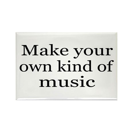 Make Your Own Music Rectangle Magnet