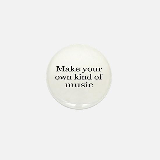 Make Your Own Music Mini Button