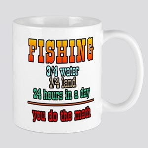 Fishing, You Do The Math Mug