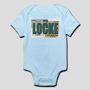 Locke Words Infant Creeper