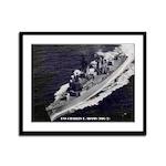 USS CHARLES F. ADAMS Framed Panel Print