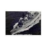 USS CHARLES F. ADAMS Rectangle Magnet