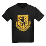 USS CHARLES F. ADAMS Kids Dark T-Shirt