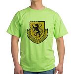 USS CHARLES F. ADAMS Green T-Shirt
