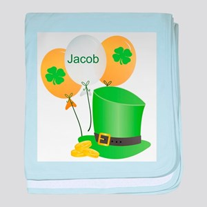 Jacob Lucky Irish baby blanket