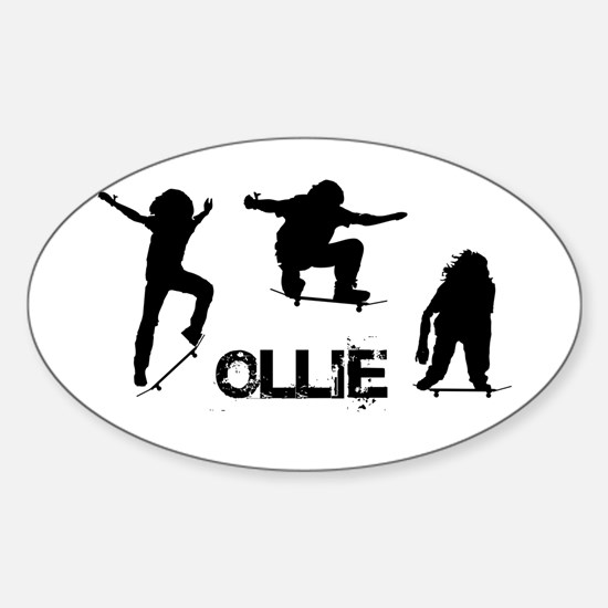 Ollie Sticker (Oval)