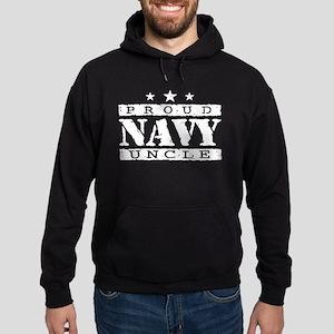 Proud Navy Uncle Hoodie (dark)