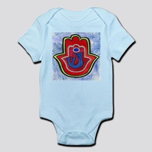 Double Hamsa Shin Infant Creeper