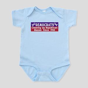 Liberal Progressive Dem Infant Creeper