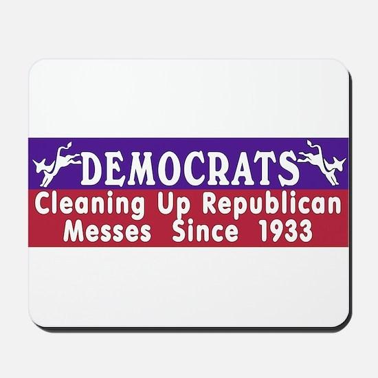 Liberal Progressive Dem Mousepad