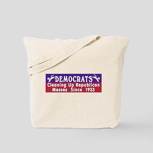 Liberal Progressive Dem Tote Bag