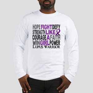 Licensed Fight Like A Girl 23. Long Sleeve T-Shirt