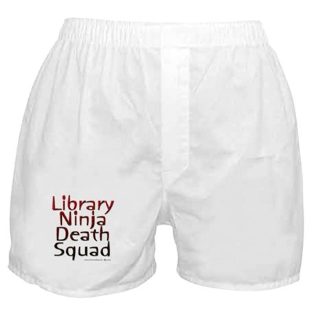 Ninja Librarian Boxer Shorts