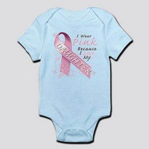 I Wear Pink Because I Love My Daughter Infant Body