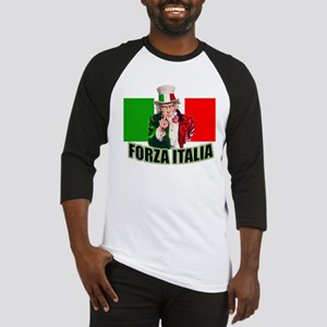Uncle Sam goes To Italy Baseball Jersey