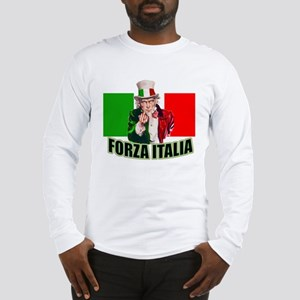 Uncle Sam goes To Italy Long Sleeve T-Shirt