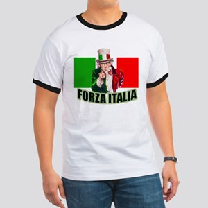 Uncle Sam goes To Italy Ringer T