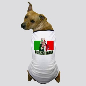 Uncle Sam goes To Italy Dog T-Shirt
