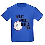 What Would Julius Do? Kids Dark T-Shirt