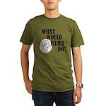 What Would Julius Do? Organic Men's T-Shirt (dark)