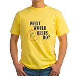 What Would Julius Do? Yellow T-Shirt
