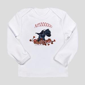 Arroo Scottish Terrier Long Sleeve Infant T-Shirt