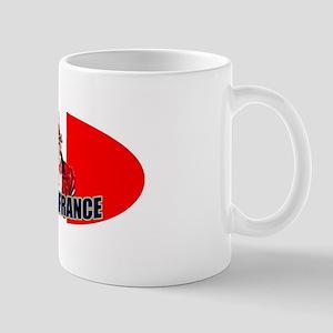 Uncle Sam goes to France Mug