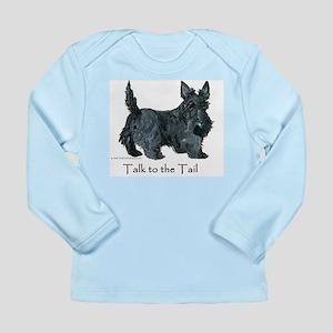 Scottish Terrier Attitude Long Sleeve Infant T-Shi