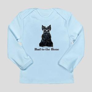Scottie Bad to the Bone Long Sleeve Infant T-Shirt