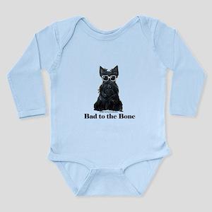 Scottie Bad to the Bone Long Sleeve Infant Bodysui