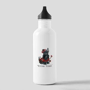 Celtic Scottish Terrier Stainless Water Bottle 1.0