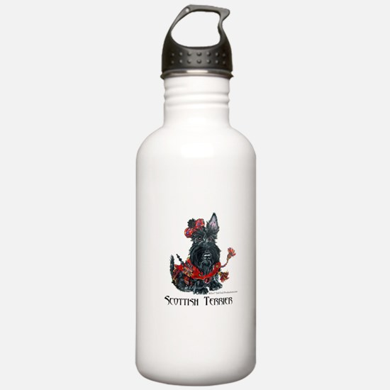 Celtic Scottish Terrier Water Bottle