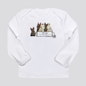 Old Age Scottish Terriers Long Sleeve Infant T-Shi