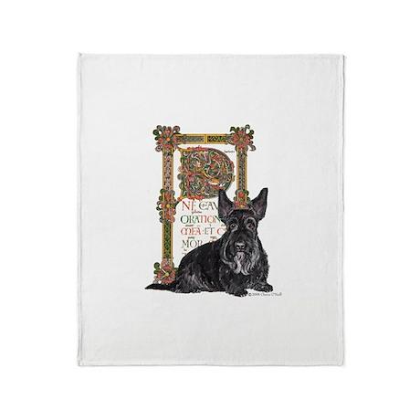 Celtic Scottish Terrier - Sco Throw Blanket