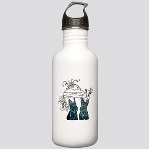 Scottish Terrier Proverb Stainless Water Bottle 1.