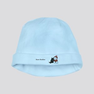 Snow Buddies baby hat