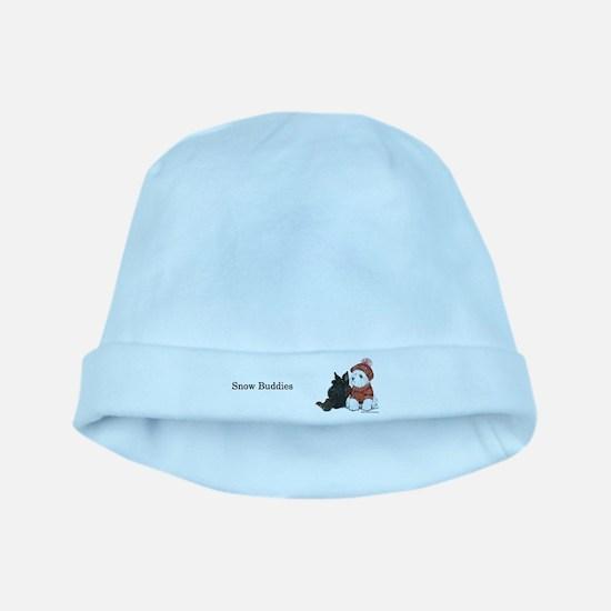 Snow Buddies baby hat