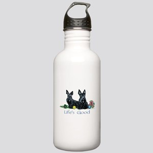 Life is Good - Scotties Stainless Water Bottle 1.0