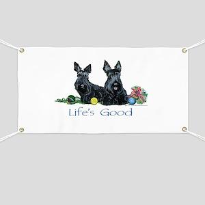 Life is Good - Scotties Banner