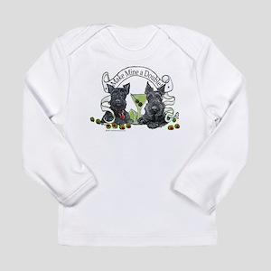 Scottish Terrier Double Long Sleeve Infant T-Shirt