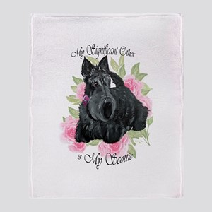 Signicant Scottie Throw Blanket
