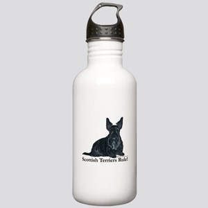 Scottish Terriers Rule! Stainless Water Bottle 1.0