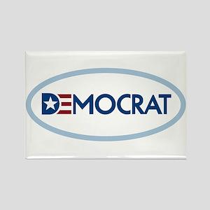 Democrat Rectangle Magnet